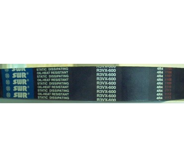 COURROIE 3 VX 600 4 BRINS