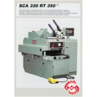 DELIGNEUSE MULTIPLE CML SCA320 RT 350 AVEC 1 LAME MOBILE