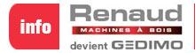 Renaud Machine à bois