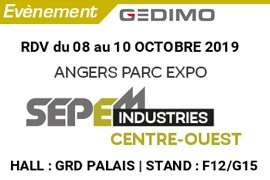 Salon SEPEM Industrie - Angers 2019